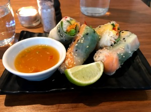 Summer Rolls Mildreds Camden London