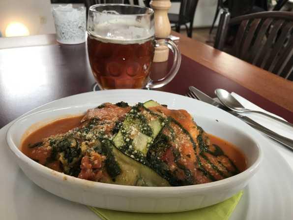 Vegans Prague - Courgette Lasagne-min