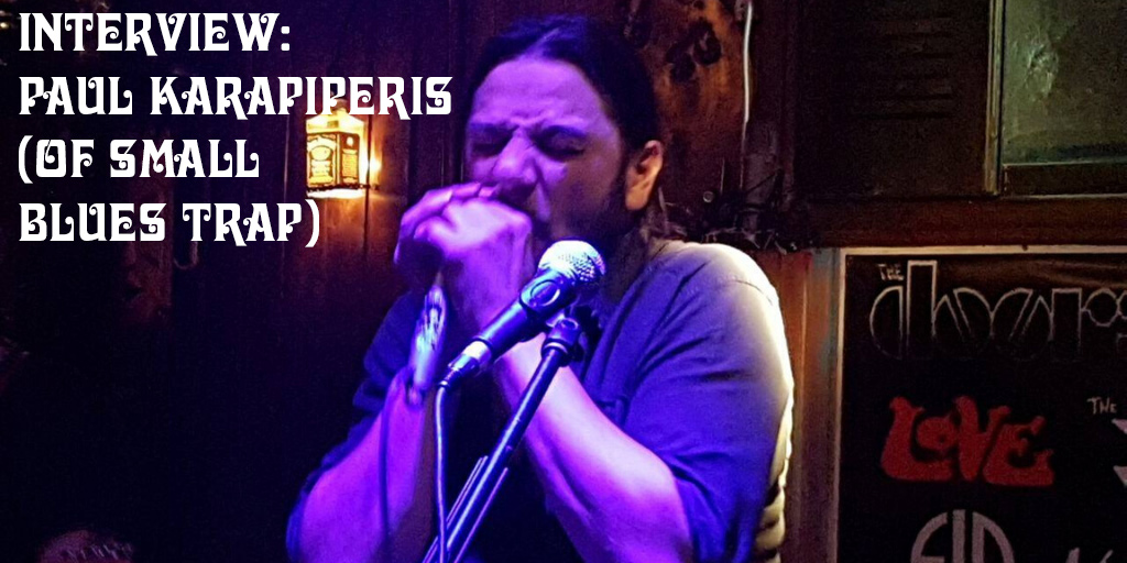 Crazy on Classic Rock Interview Paul Karapiperis of Small Blues Trap