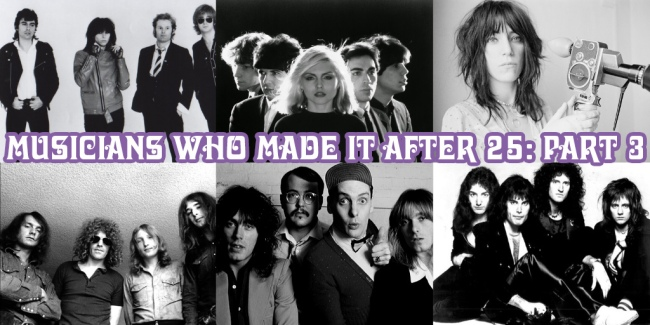 The Diversity of Classic Rock Musicians Who Made it after 25 Part 3