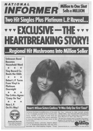 Heart Dreamboat Annie Ad