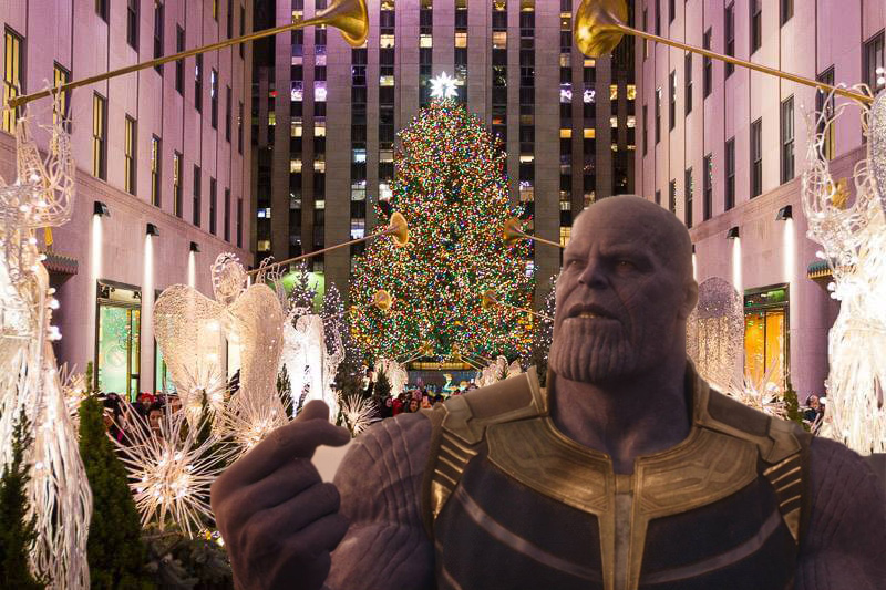 Thanos Christmas