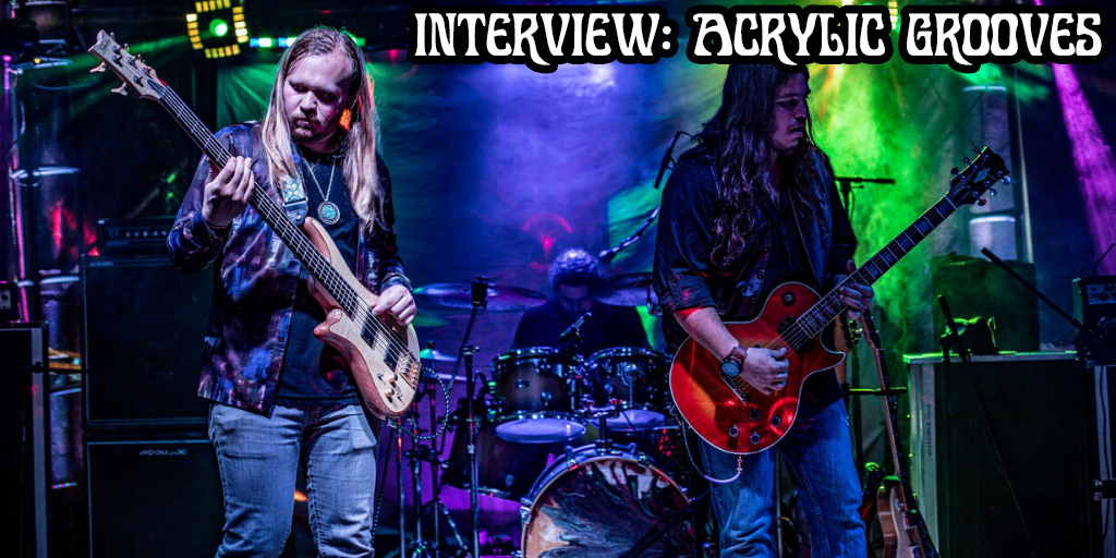 The Diversity of Classic Rock Interview Acrylic Grooves