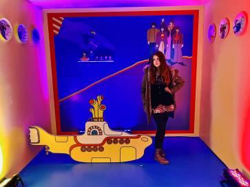Angie with Yellow Submarine-min