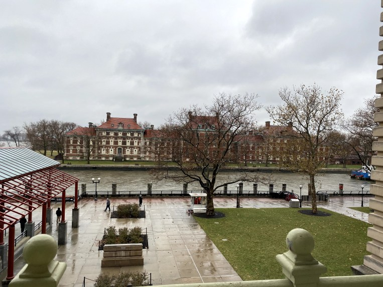 Ellis Island view