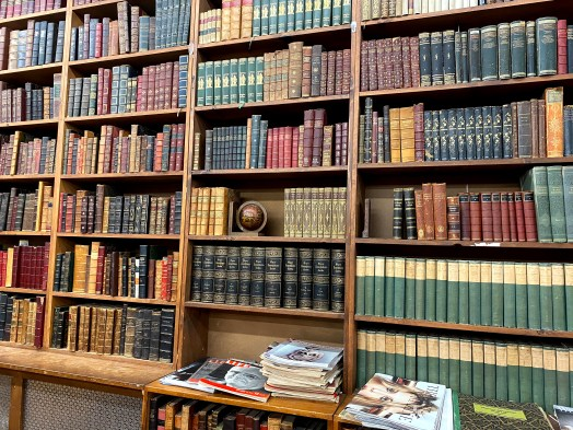 Old Books inside the Strand
