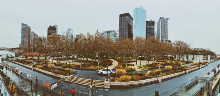 Panorama Battery Park New York City
