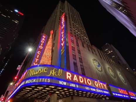 Radio City Music Hall Christmas Lights