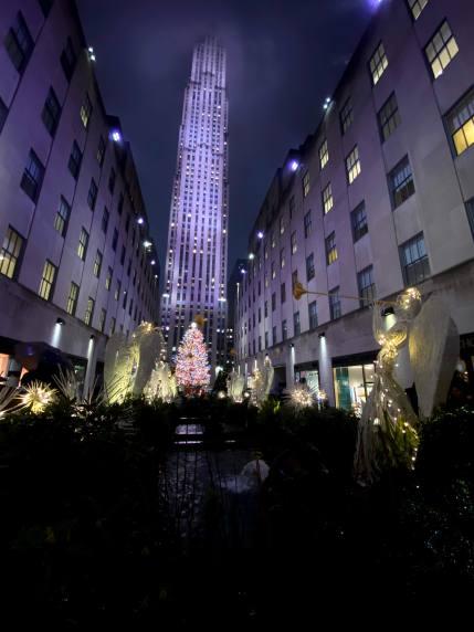 Rock Centre Christmas Lights