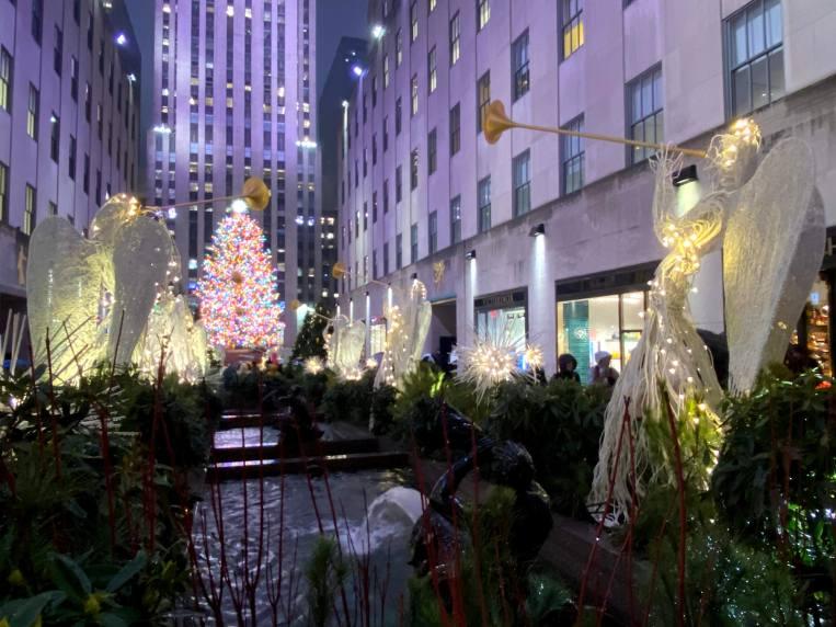 Rockefeller Centre Christmas Decorations