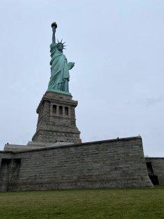 Statue of Liberty low angle shot