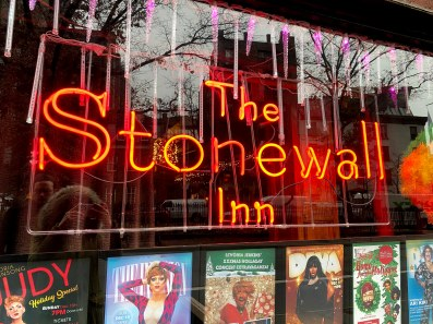Stonewall Inn Sign
