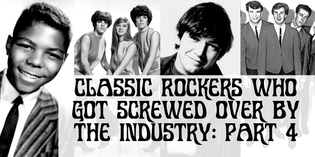 The Diversity of Classic Rock Musicians Who Got Ripped Off By Managers and Record Labels Part 4