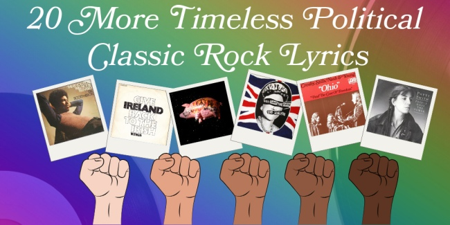 20 Timeless political classic rock songs Part 2