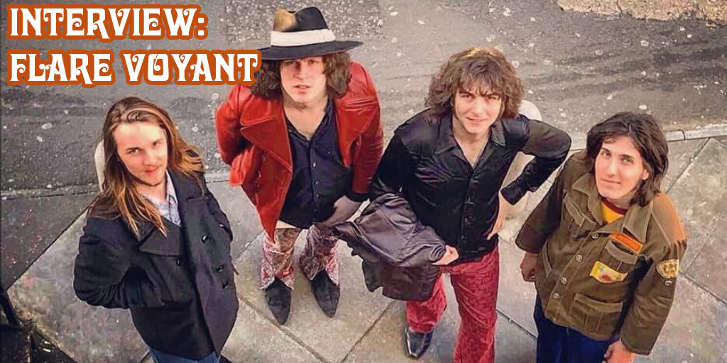 Crazy on Classic Rock Interview - Flare Voyant
