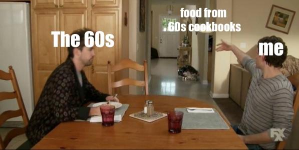 60s boring food