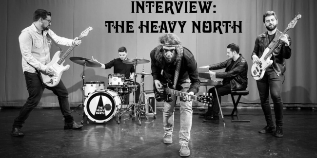 Crazy on Classic Rock Interview - The Heavy North