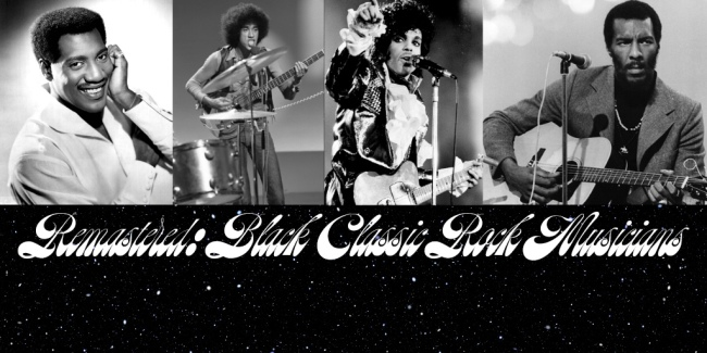 The Diversity of Classic Rock Remastered Black Musicians of the 60s 70s and 80s Part 3