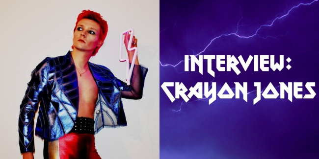 Crazy on Classic Rock Interview Crayon Jones