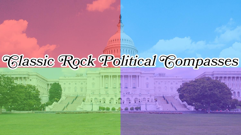 Classic Rock Political Compass Memes